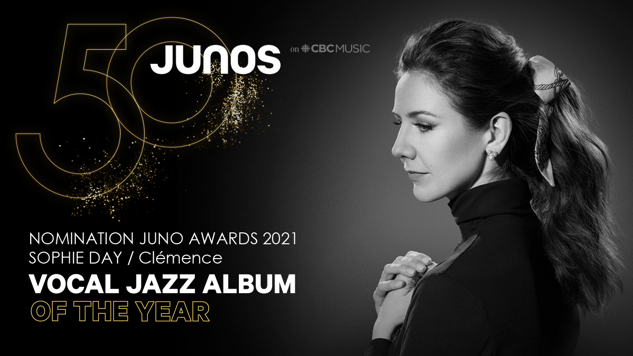 Sophie Day Juno Award Nomination